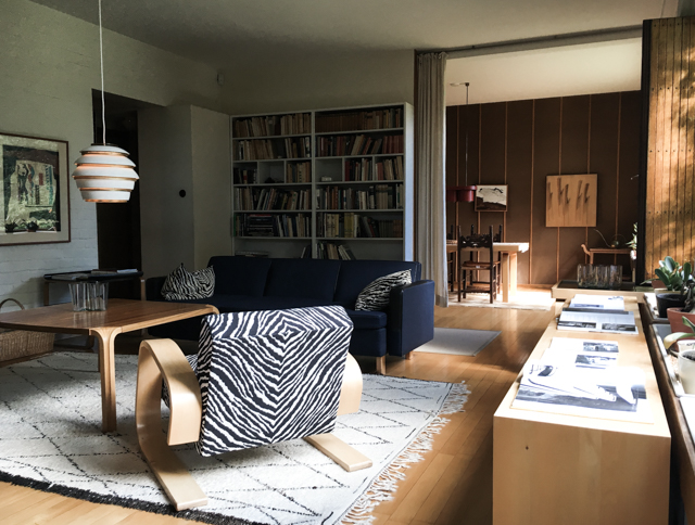 Alvar Aalto house Helsinki