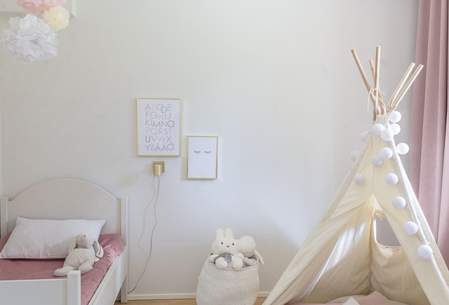 Lapsen huone girls room decor-1