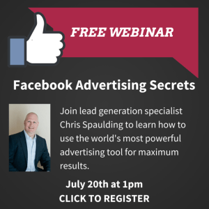 Webinar: Facebook Advertising Secrets