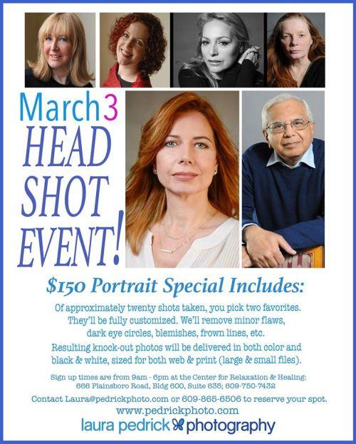 Laura Pedrick Photography Headshot Event