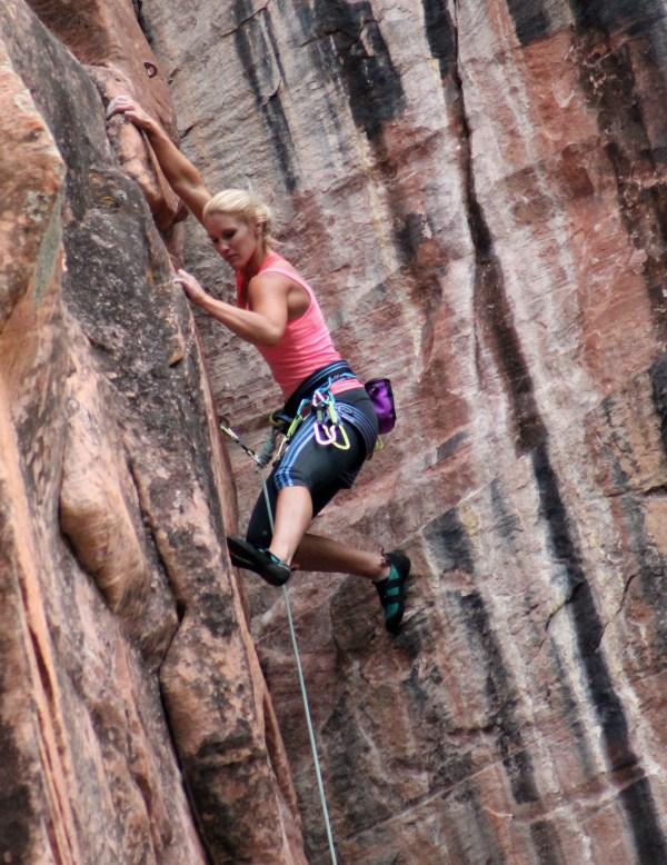 Women Mountain Climbing