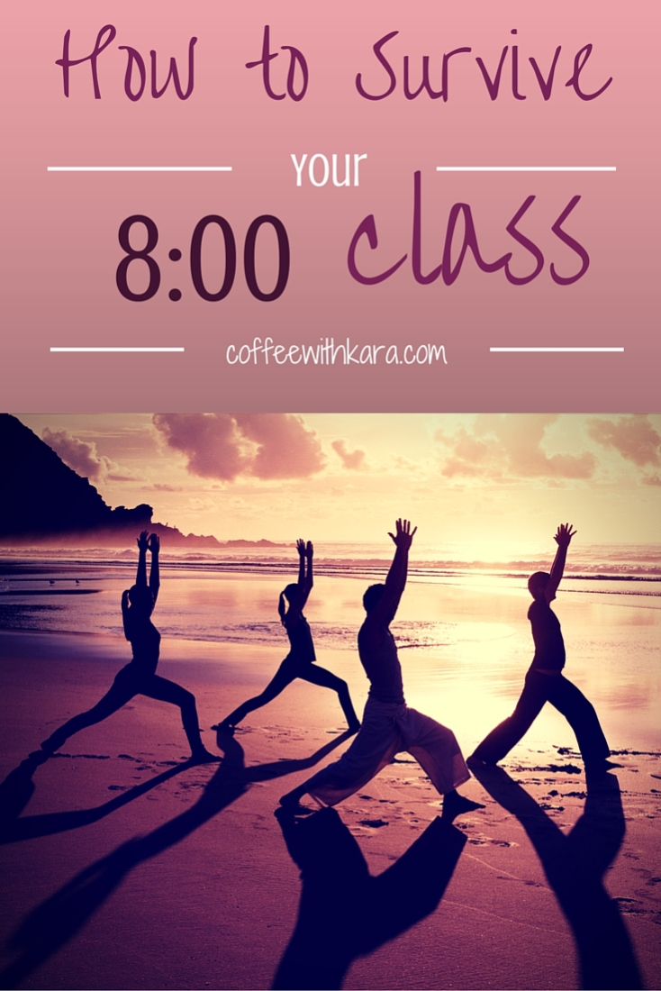 Got an 8:00 class this semester? Here are 15 awesome tips to help you THRIVE in your early morning class.