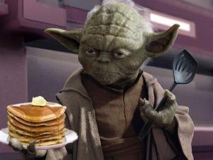 yoda pancakes