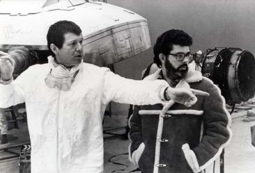 Richard Marquand and George Lucas