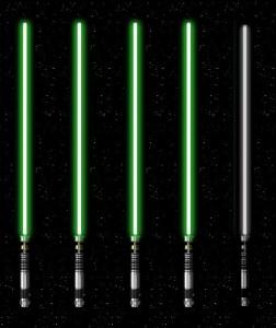 4 of 5 Lightsabers
