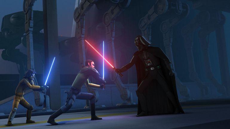 Vader fight