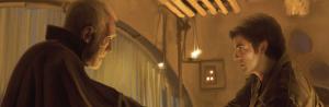 Lor San Tekka and Poe Dameron in Star Wars: The Force Awakens Photo Source: starwars.wikia.com