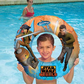 STAR WARS 3-D SWIM RING - REBELS