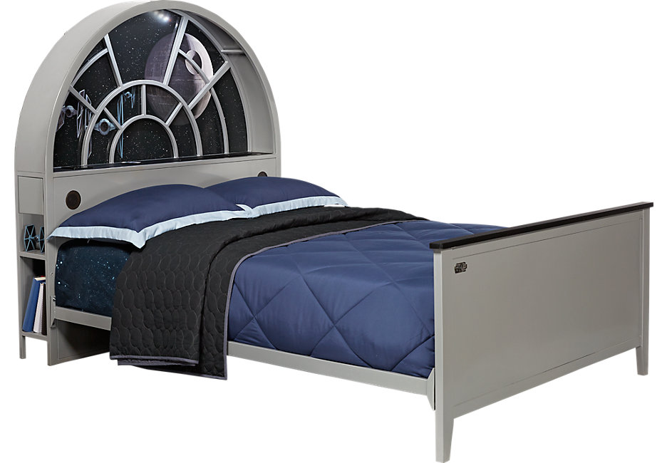 br_bed_3641161p_millenniumfalcon_flstar-wars-millennium-falcon-gray-3-pc-full-bookcase-bed