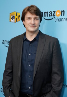 Nathan Fillion seen at the Lionsgate, Comic-Con HQ and Amazon Channels celebration for the new seasons of Con Man, Kings of Con and Mark Hamill's Pop Culture Quest at the Paley Center in Beverly Hills. (Photo by Steve Cohn/Invision for Lionsgate Home Ent./AP Images)