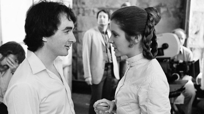 Anthony Daniels and Carrie