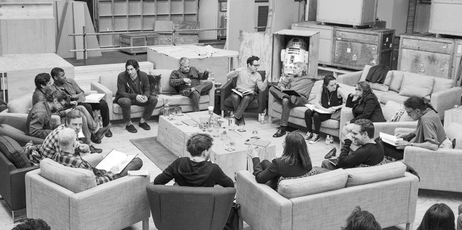Table read for The Force Awakens