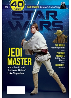 Special Edition Star Wars - 40th Anniversary Magazine - (Luke Skywalker-Cover)