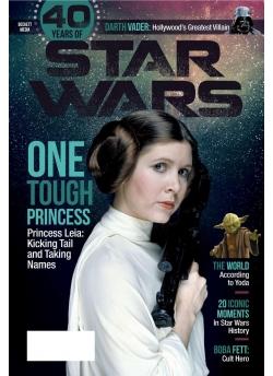 Special Edition Star Wars - 40th Anniversary Magazine - (Princess Leia-Cover)