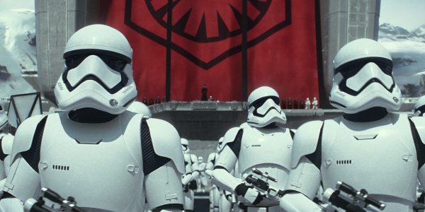 First Order Stormtroopers on Starkiller Base