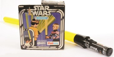 P42, The earliest toy lightsaber was this inflatable version