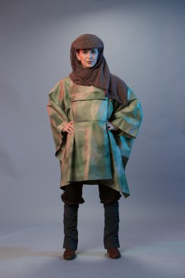 At Star Wars: GalaxyÕs Edge at Disneyland Park in Anaheim, California, and at Disney's Hollywood Studios in Lake Buena Vista, Florida, guests will find highly detailed Disney Cast Member costumes unique to each area and attractions throughout Black Spire Outpost, a village on the planet of Batuu. Cast Members in villager costumes (pictured) will interact with guests throughout Black Spire Outpost. (Christian Thompson/Disney Parks)