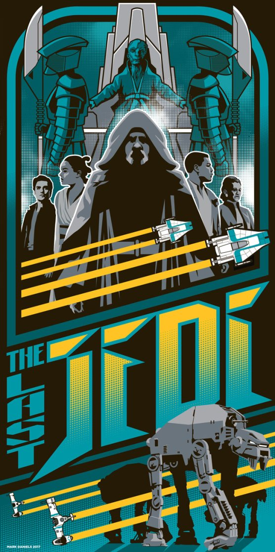 'The Last Jedi' by Mark Daniels