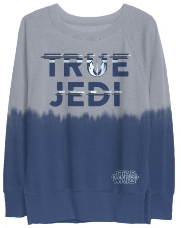 Women's True Jedi Dip Dye Long-sleeve - $39.99 Disney Parks Exclusive