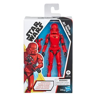 STAR WARS GALAXY OF ADVENTURES 5-INCH SITH JET TROOPER Figure in pck copy