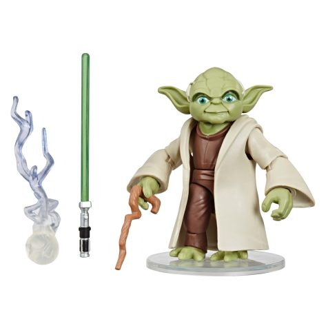 STAR WARS GALAXY OF ADVENTURES 5-INCH YODA Figure oop (1) copy