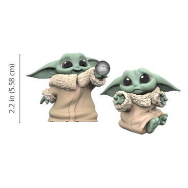 STAR WARS THE BOUNTY COLLECTION, THE CHILD 2.2-inch Collectibles (3)