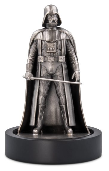 NEW ZEALAND MINT - Star Wars - Darth Vader™ 150g Silver Miniature - $650 This is a unique solid silver miniature of the Sith LordTM himself, Darth VaderTM. Guaranteed minimum 150g sterling silver this menacing design, by 3D master sculptor Alejandro Pereira Ezcurra, shows the iconic villain standing firm and holding his LightsaberTM ready for action! This is a very limited-edition piece, with only 1,000 casts available worldwide. Shop now at New Zealand Mint: https://www.nzmint.com/star-wars/darth-vader-150g-silver-miniature?nav=5856