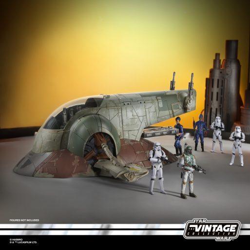 STAR WARS THE VINTAGE COLLECTION BOBA FETT'S SLAVE I Vehicle - oop (4)