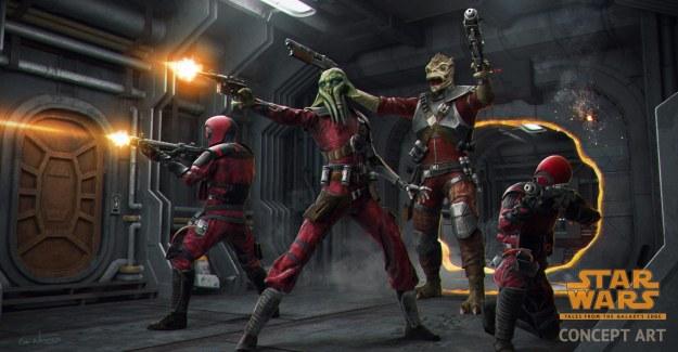 Tara Rashin - Guavian Death Gang - Star Wars: Tales from the Galaxy's Edge (Logo)