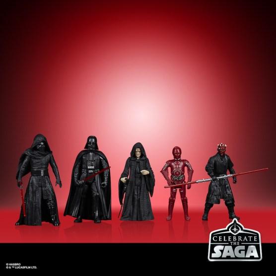 STAR WARS CELEBRATE THE SAGA 3.75-INCH SITH Figure 5-Pack - oop (1)