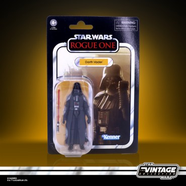 STAR WARS THE VINTAGE COLLECTION 3.75-INCH DARTH VADER Figure - in pck