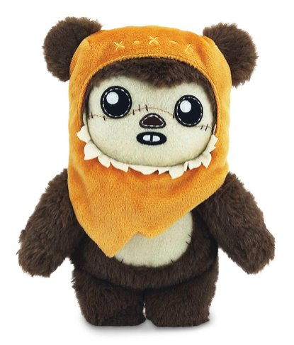 Mattel -- A bevy of adorable plushes, including a wide-eyed bantha, a curious porg, and a toothy Ewok, as well as a Build-a-Droid will be available to snuggle.
