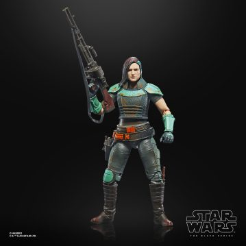 Star Wars: The Black Series Credit Collection 6-Inch Cara Dune Figure MSRP: $24.99 Available: Pre-order 9/21 Retailer: Target Description: Fans and collectors can imagine scenes from the Disney Plus series THE MANDALORIAN with this premium STAR WARS: THE BLACK SERIES CREDIT COLLECTION 6-INCH CARA DUNE Figure. An intimidating brawler and crack shot, Cara Dune has put her days of military discipline behind her, and now has reinvented herself as a mercenary. As part of the STAR WARS: THE BLACK SERIES CREDIT COLLECTION this figure features multiple points of articulation, premium deco, a collectible Imperial Credit accessory, and packaging that has been treated with a weathered look inspired by the end credit images from THE MANDALORIAN, making this a great addition to any STAR WARS collection. Includes figure, 3 accessories, and Imperial Credit. Available for pre-order at Target.