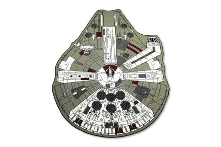 Star Wars Millennium Falcon Small Area Rug | 39 x 52 Inches