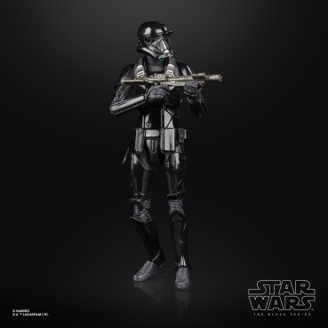 STAR WARS THE BLACK SERIES ARCHIVE 6-INCH IMPERIAL DEATH TROOPER Figure - oop (2)