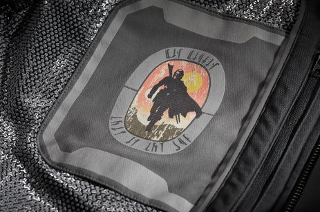 The Mandalorian IC Jacket - Interior Easter Egg