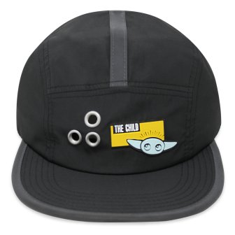 The Child Baseball Cap for Adults – Star Wars: The Mandalorian Description: The Child baseball cap is sure to be a hit throughout the galaxy. This contemporary design features an elemental Grogu & cute flat bill, and novel design elements. MSRP: $27.99 Availability: shopDisney.com, Disney Stores, Walt Disney World Resort and Downtown Disney District at Disneyland Resort
