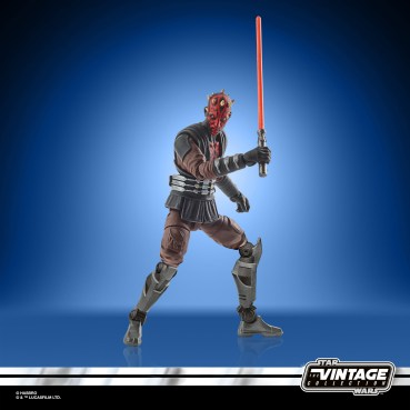 STAR WARS THE VINTAGE COLLECTION 3.75-INCH DARTH MAUL (MANDALORE) Figure - oop (1)