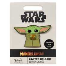 The Child Holding Cup Pin – Star Wars: The Mandalorian – Limited Release MSRP: $15.99 Available: March 6 Link: shopdisney.com/465051823747.html Description: Share a cup of bone broth with Grogu, the Child from Star Wars: The Mandalorian. The adorable creature with the power of the Force on this limited release enameled cloisonne pin holds a pivoting cup.