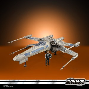 STAR WARS THE VINTAGE COLLECTION ANTOC MERRICK'S X-WING FIGHTER Vehicle and Figure - oop 8