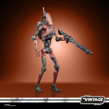 STAR WARS THE VINTAGE COLLECTION GAMING GREATS 3.75-INCH HEAVY BATTLE DROID Figure (3)