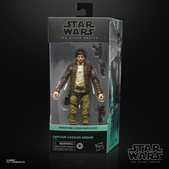 STAR WARS THE BLACK SERIES 6-INCH CAPTAIN CASSIAN ANDOR Figure - in pck (1)