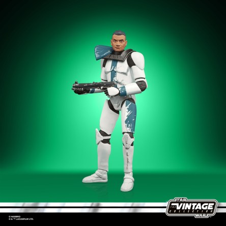 STAR WARS THE VINTAGE COLLECTION STAR WARS THE BAD BATCH Figure 4-Pack - CLONE CAPTAIN BALLAST (2)