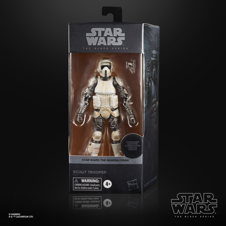 STAR WARS THE BLACK SERIES CARBONIZED COLLECTION 6-INCH SCOUT TROOPER Figure 2