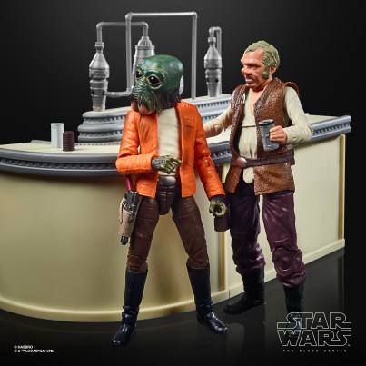STAR WARS THE BLACK SERIES THE POWER OF THE FORCE CANTINA SHOWDOWN Playset - oop (10)