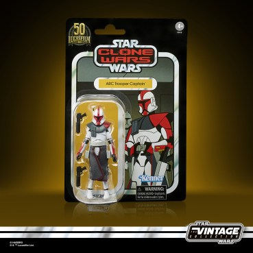 STAR WARS THE VINTAGE COLLECTION 3.75-INCH ARC TROOPER CAPTAIN Figure 1