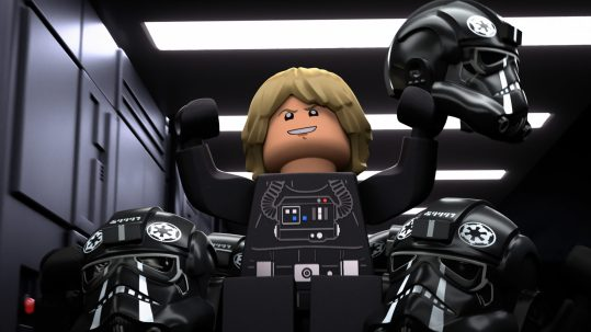 Luke Skywalker in LEGO STAR WARS HALLOWEEN SPECIAL exclusively on Disney+. ©2021 Lucasfilm Ltd. & TM. All Rights Reserved.