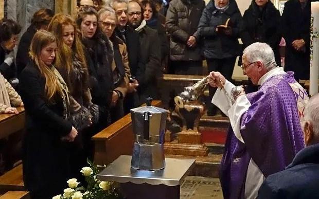 Renato Bialetti funeral