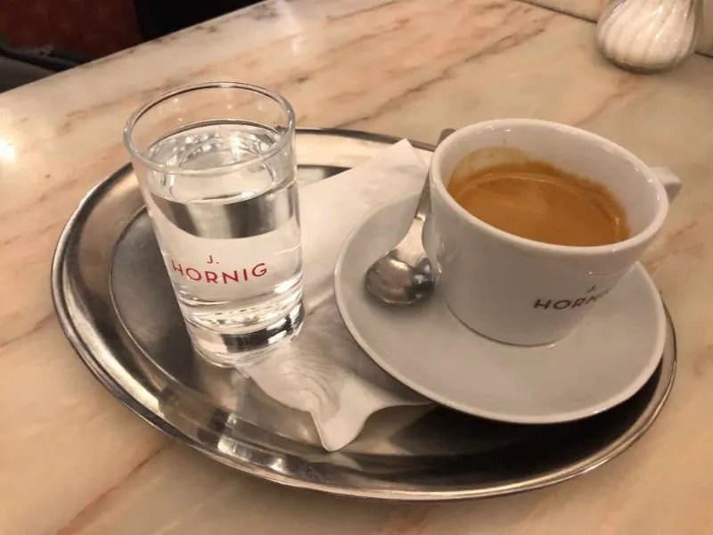 Austria coffee moka grosser schwarzer