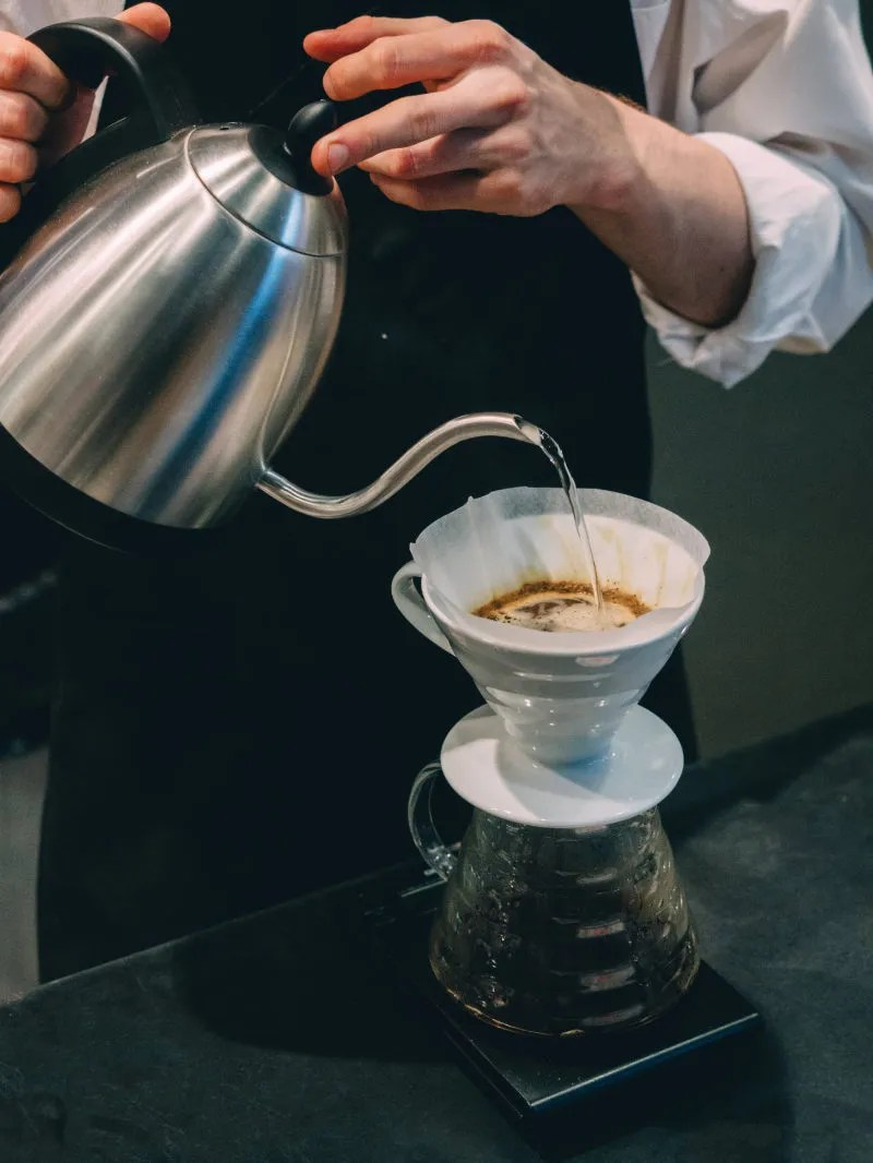 coffee pour over method